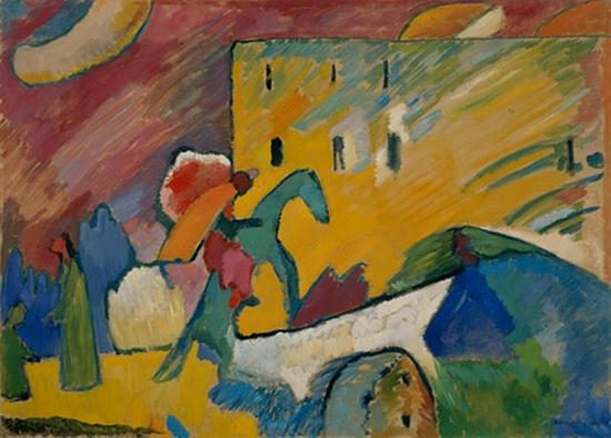 Wassily Kandinsky, Improvisation III, 1909