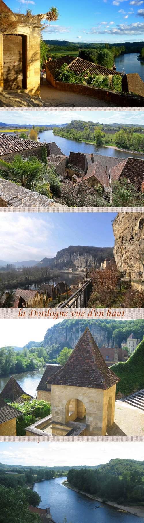 Circuit Touristique : Belvédères sur la vallée de la Dordogne