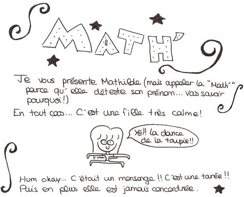 BD - Présentation de Math'
