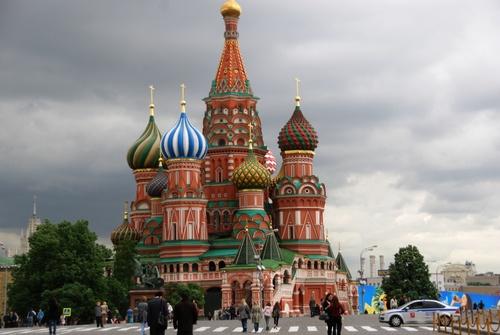 La place Rouze à Moscou (photos)