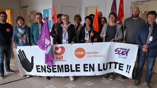 À l'hôpital de Quimper, les syndicats dans la négociation (OF.fr-11/06/19-21h14)