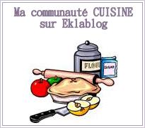 Ma communauté CUISINE sur Eklablog