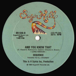 The Sequence - And You Know That