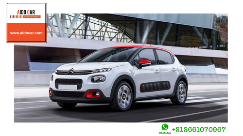 Location de voiture compacte à Casablanca – Location Citroën C3 Casablanca