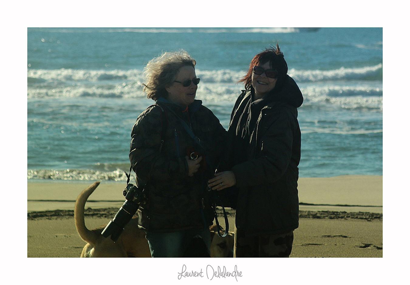 """La première rencontre des quatre """"garçons"""" sur la plage de l'Espiguette"""