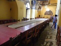 monastere saint Jean le Théologien réfectoire