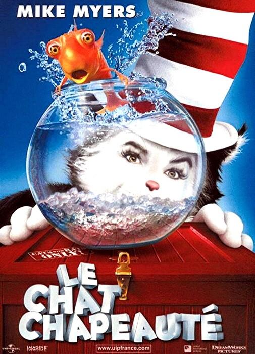 LE CHAT CHAPEAUTE BOX OFFICE FRANCE 2004