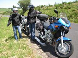 Moto Tour 2012 : Entre Auvergne et Périgord noir .