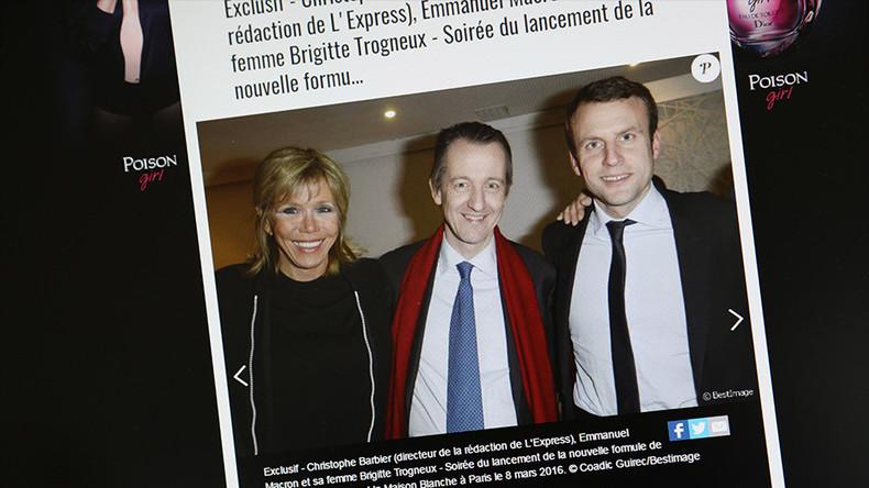 Quand internet a de la mémoire : Emmanuel Macron est-il le candidat de SFR Presse et Altice ?