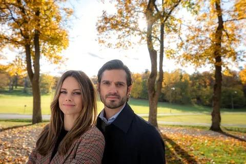 Carl Philip et Sofia de Suède