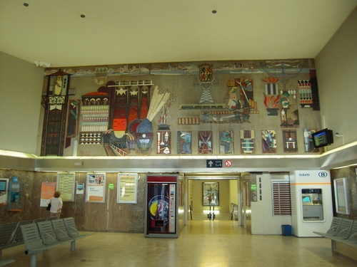 La gare de La Louvière