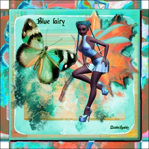 Blue fairy  chez cat et val