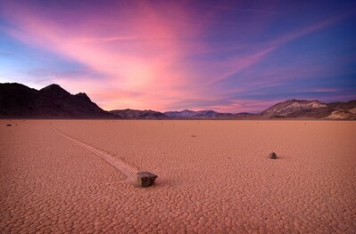 2. Racetrack Playa en Californie