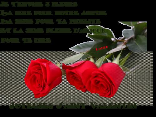 Joyeuses St valentin à tous