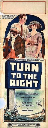 "Résultat de recherche d'images pour ""turn to the right 1922 poster"""