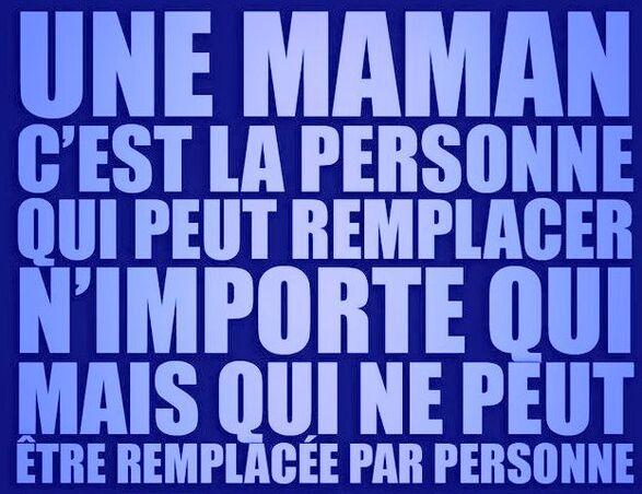 Souvenir maman.