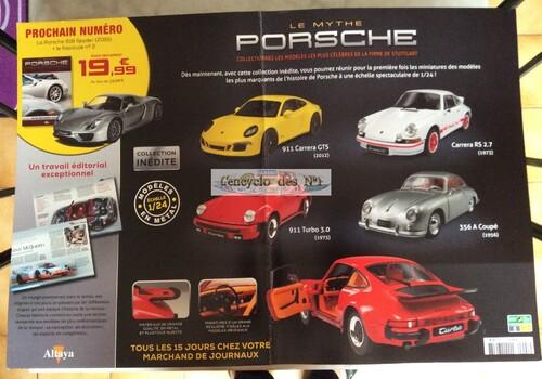 N° 1 Le mythe Porsche - Test