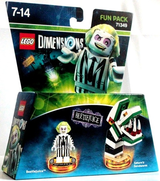 Lego Dimension : Powerpuff Girls / Teen Titans / Beetlejuice