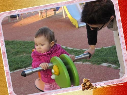 Sortie au parc avec Zoé et Betty