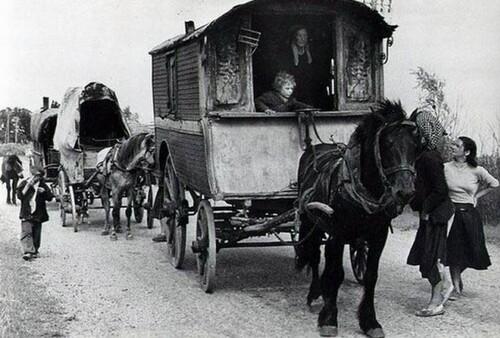 l'histoire des roulottes de tzigane