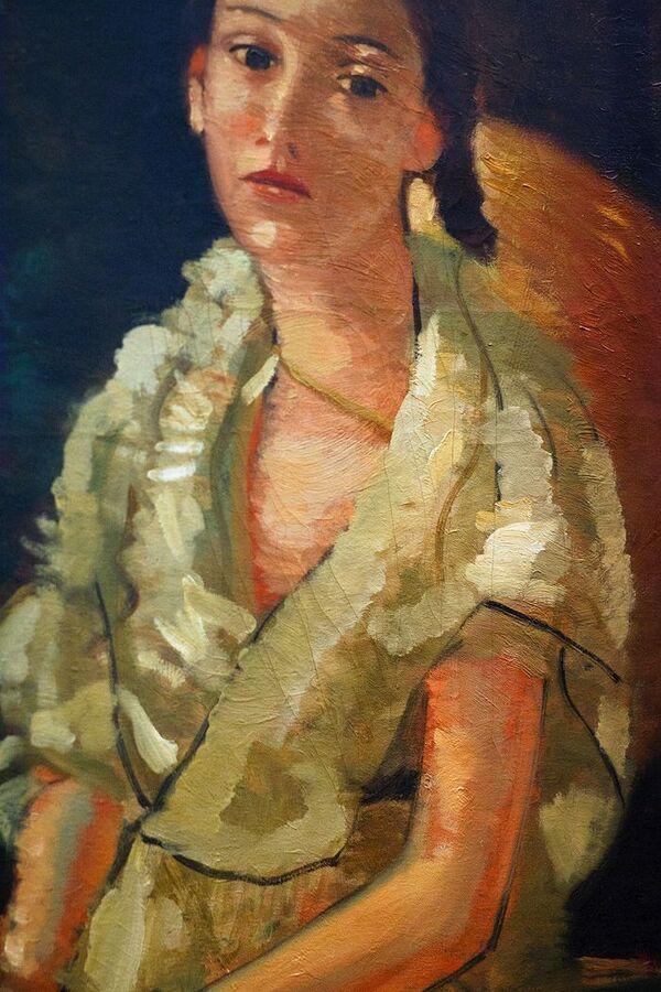 Samedi - Un Derain : La nièce du peintre, assise