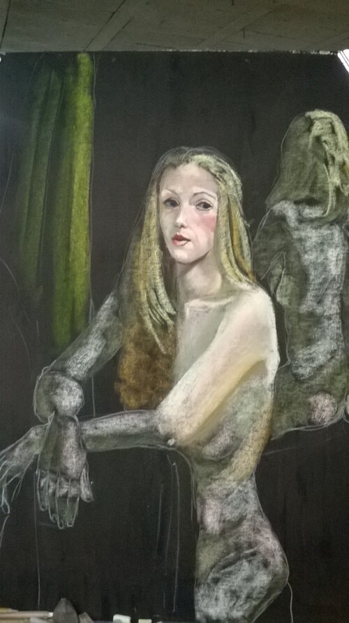 Vendredi - En séance : Aurélie et son reflet (1)
