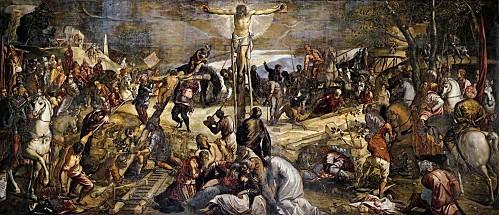 Tintoret crucifixion san rocco