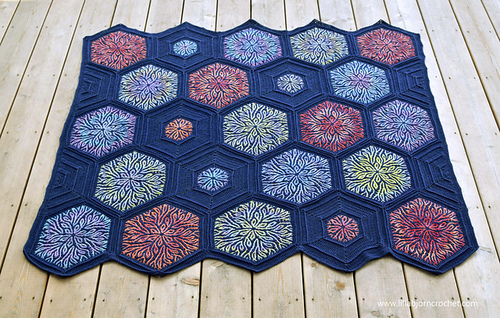 Coral Story Blanket