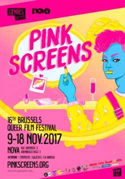 Affiche Pink Screens 2017