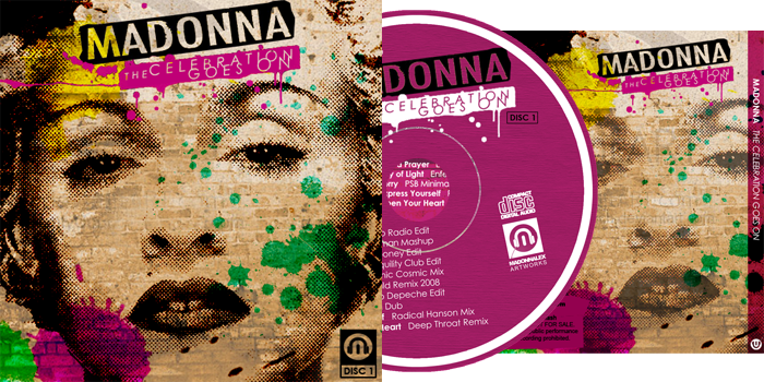 Madonna The Celebration Goes On Disc 1