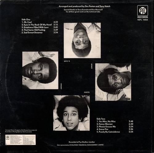 "Sweet Sensation : Album "" Sweet Sensation "" Pye Records NSPL 18454 [ UK ]"