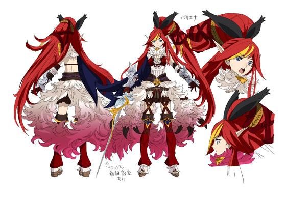 Résultats de recherche d'images pour «chain chronicle anime characters»