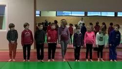 Première séance de Judo sous la plume d'Esteban, de Juliette et de Paul