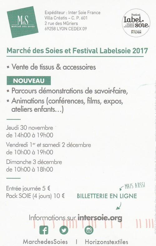 Marché des soies et festival Labelsoies