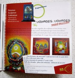 Programmation culturelle Pays de Charlieu-Belmont  2013 Poiré Guallino