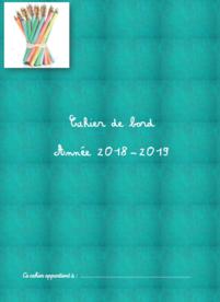 Cahier de bord de l'ASH 2018-2019