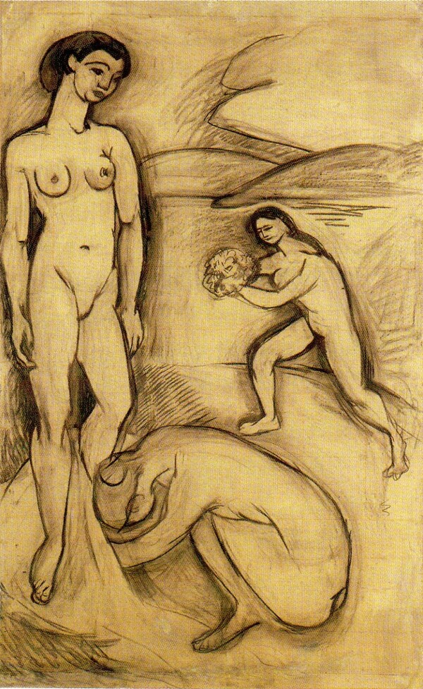 * Matisse 20 /  1907 : Le luxe I