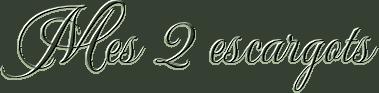 *** 22 - Mes 2 Escargots ***