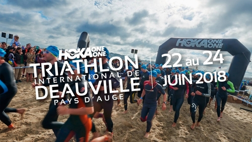 Triathlon international de Deauville 23/06/2018