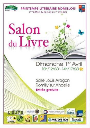 Affiche Salon Romilly 2012