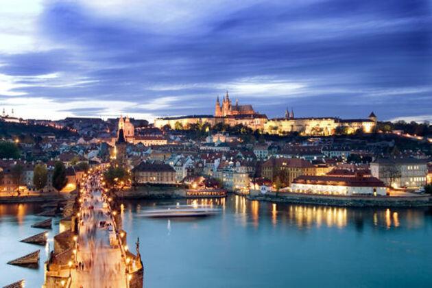 La vieille ville de Pragues