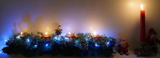 Mon Noël traditionnel : la cheminée