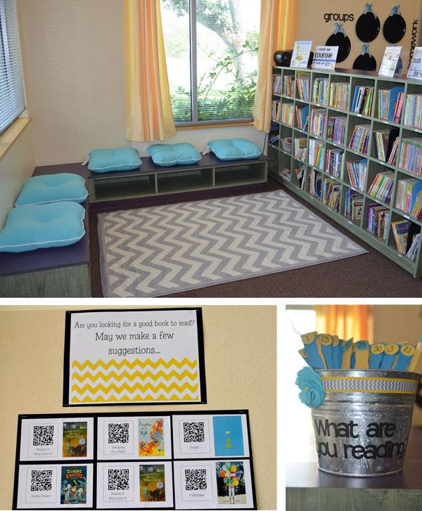 Decorate Small Reading Area: Pour Des élèves Moins Bruyants Dans Une Classe Moins