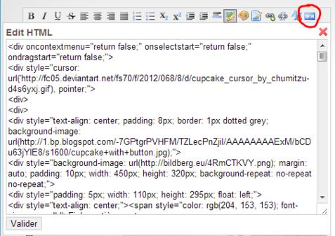 Les Codes HTML