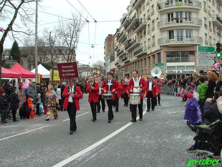 Ce dimanche 2 Mars 2014: C'était «Voyage, voyage» au traditionnel carnaval de Limoges