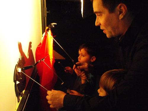 Spectacle de marionnettes à Meyras