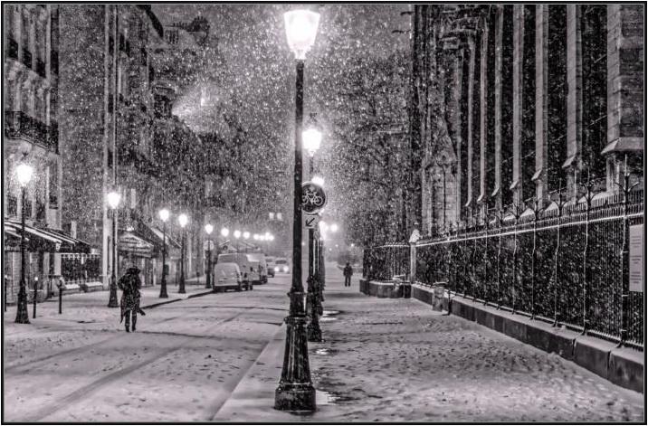 """""""Les parisiens ont bien de la misère avec la neige …"""" bis repetita placent"""""""