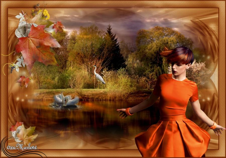 ♥ Feuille d'automne ♥