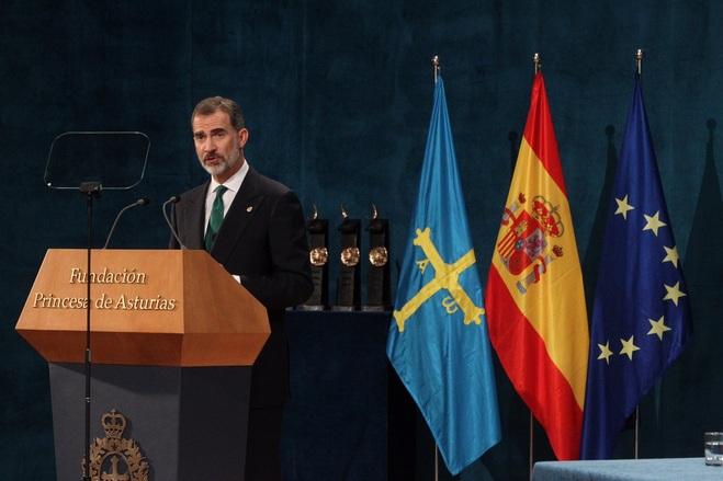 Ceremonia de entrega de los Premios Princesa de Asturias 2017