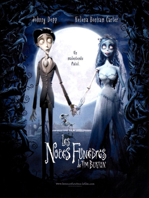 LES NOCES FUNEBRES BOX OFFICE FRANCE 2005